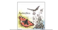 AFG9811B Butterflies block MNH AFGAN POST 1998