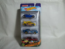 HOT WHEELS 2014 TARGET EXCLUSIVE EASTER SPEEDSTER 4-PACK NIB CHALLENGER, SHELBY