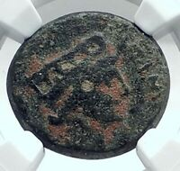 CORINTH under GALBA Authentic Ancient 68AD Roman / Greek Coin Hands NGC i77612