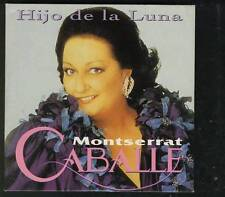 MONTSERRAT CABALLE  Hijo De La Luna Phantom Of The Opera RARE CARD SLV CD SINGLE