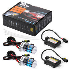 H7 55W 6000K HID Xenon Light Conversion Kit Slim Digital Ballast Headlight LD708