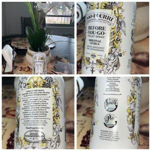 🚽Poo-Pourri Before-You-go Refill Bottle Citrus Scent 16 Fl Oz {Brand New}🚽