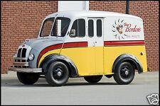 1950 Divco Milk Delivery Truck, BORDENS DAIRY, Refrigerator Magnet, 40 MIL
