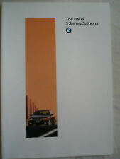 BMW 3 Series Saloon brochure 1996 Ed 1