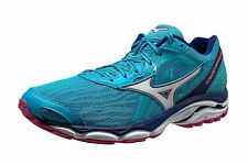 Mizuno Wave Inspire 14 Women's Size 8 Athletic Running Shoes Blue Pink White