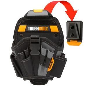 ToughBuilt - Drill Holster - Large - Multi-Pocket Organizer, Heavy Duty, - 13