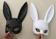 NEW Bunny Mask Adult Masquerade Rabbit Halloween Fancy Dress BUY ONE GET ONE