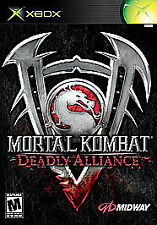 Mortal Kombat Deadly Alliance (Xbox) MANUAL ONLY   (Instruction Booklet)