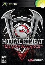 Mortal Kombat: Deadly Alliance (Xbox, 2002) **NO INSTRUCTIONS**