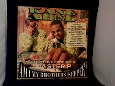 KANE~ABEL~PRO.BY MASTER P ~ AM I MY BROTHERS KEEPER~~ PROMO POSTER FLAT ~
