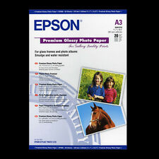 EPSON A3 PREMIUM GLOSSY PHOTO PAPER 25 SHTS NEXT DAY DELIVERY