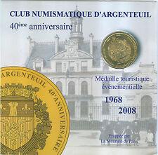 MEDAILLE MONNAIE DE PARIS  ENCARTS ARGENTEUIL 3008