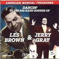 LES BROWN & JERRY GRAY Dancin to the Big Band Sounds of CD OOP