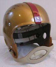 Eddie LeBaron RT RK TK Redskins Stat Helmet - 5 Inscriptions 1950's Style