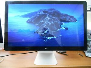 "Apple 27"" Thunderbolt Monitor A1407 LCD Widescreen 2560 X 1440 Display"