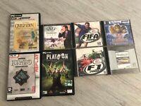 Lotto di giochi vintage per PC (8 giochi) vedi descrizione