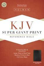 Super Giant Print Reference Bible-KJV (Leather / Fine Binding)