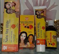 Serum eclaircissant nano & creme  tube  visage et corps  jeunesse fraîcheur