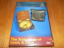THE TECHNOLOGY OF LEWIS & CLARK Guns Equipment Gun Tools HISTORY CHANNEL DVD NEW