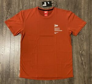 """Nike NRG x Patta """"Publicity"""" Top Men's Small S Red AH6490-630"""