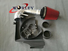 Cold Air Intake Kit For 2011-2014 Ford Mustang GT 5.0 V8 RED