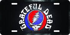 Grateful Dead aluminum original art painting license plate 100