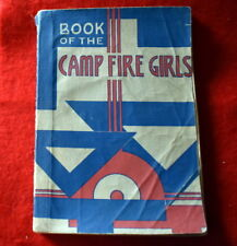 1947 BOOK OF THE CAMPFIRE GIRLS  -  NOT SCOUT