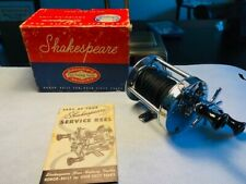 1946 New Old Stock Shakespeare fishing reel in the box with line.