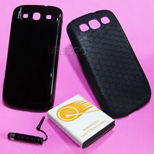 7500mAh Extended Battery+Back Cover Case for Samsung Galaxy S III S3 T999 i9300