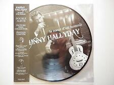Johnny Hallyday double 33Tours vinyle picture disc collector Le Coeur d'un Homme