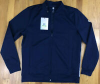 NWT Under Armour Celliant Recovery Mens Large Navy Blue White Track Jacket $100