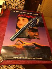 Diary of a Hitman Movie Poster One Sheet Rare Not Folded 27x40 Whitaker Belushi