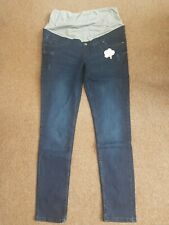Esmara Pure Collection Maternity Jeans Super Skinny Size 18 Blue
