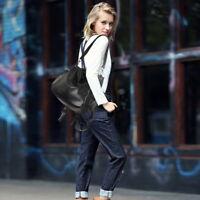 2019 New Fashion Womens Leather Backpack Purse Sling Shoulder Bag Rivets Handbag