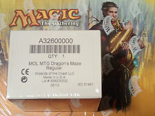Magic the Gathering Dragon's Maze complete set, Factory Sealed Box WOTC MTG