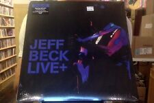 Jeff Beck Live + 2xLP sealed vinyl 2015 Plus