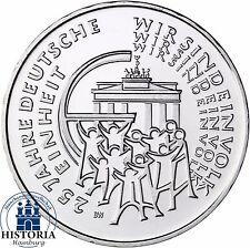 Deutschland 25 Euro Silber 2015 bfr 25 J. Deutsche Einheit Mzz. D in Münzkapsel