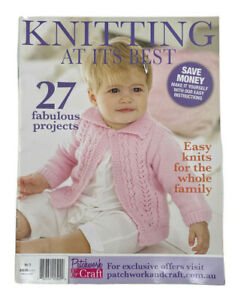 Knitting At Its Best 27 Family Projects Patchwork and Craft Knit Patterns