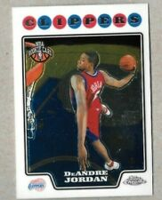 2008-09 Topps Chrome Basketball Rookie DeAndre Jordan Los Angeles Clippers #209