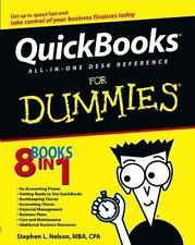 QuickBooks for Dummies All-In-One Desk Reference, Stephen L. Nelson 2003