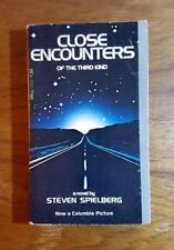 Close Encounters of the Third Kind, Steven Spielberg, (1977), 1st printing, PB