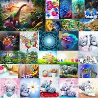 5D DIY Diamond Painting Elephant Family Cross Stitch Embroidery Mosaic Art Decor