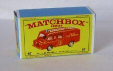 Repro box MATCHBOX 1:75 Nº 57 Land rover fire truck