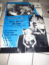 BALLATA IN BLU  Ballad in Blue SOGGETTONE Ray Charles TOM BELL ADDAMS