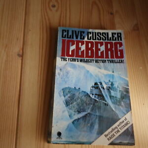 ICEBERG Dirk Pitt #3 1978 Mystery THRILLER SUSPENSE Action CRIME Adult Classic