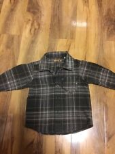 Timberland Boys Checked Long Sleeved Shirt Age 9 Months