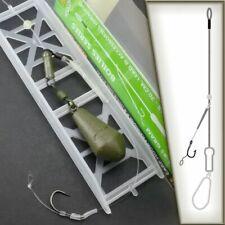 HELICOPTER Carp Rig Life-ORANGE Montage Fluorocarbon Fluoro Leader Karpfenangeln