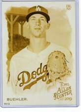 Walker Buehler 2019 Allen and Ginter 5x7 Gold #33 /10 Dodgers