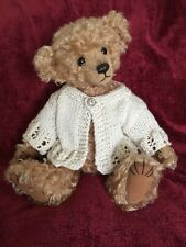 ++TEDDY CLOTHES++ new hand knitted cardigan to suit an 11 inch bear
