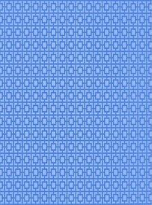Dolls House Wallpaper 180gsm Matte Photo Paper, 1/12 Blue quads (Portrait)